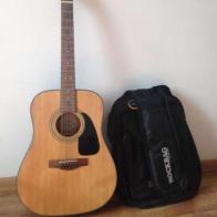 12-струнная гитара Fender DG10-12 + чехол Warwick Rockbag