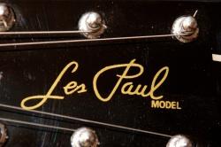 Подпись на поддельном Les Paul