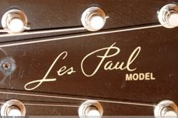 Подпись на настоящем Les Paul